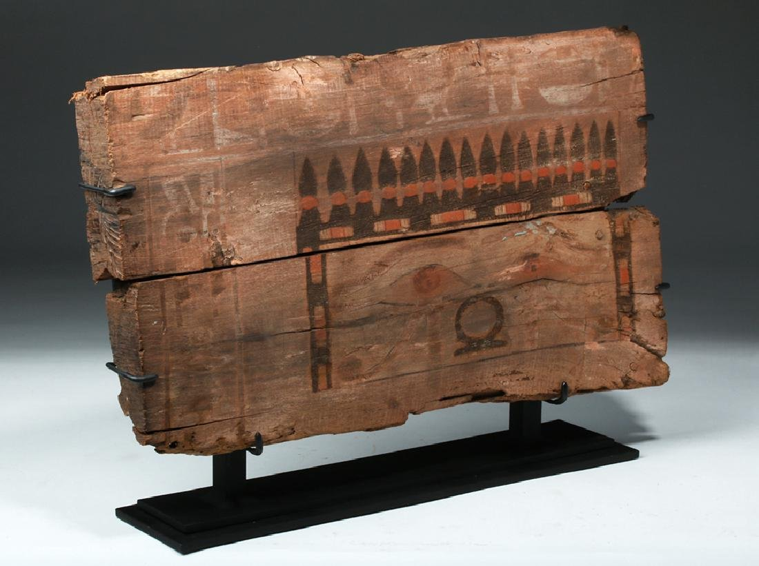 Translated Egyptian Middle Kingdom Coffin Panel - 5
