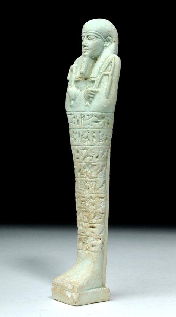 Tall Egyptian Late Dynastic Ushabti - Beautiful Color - 2