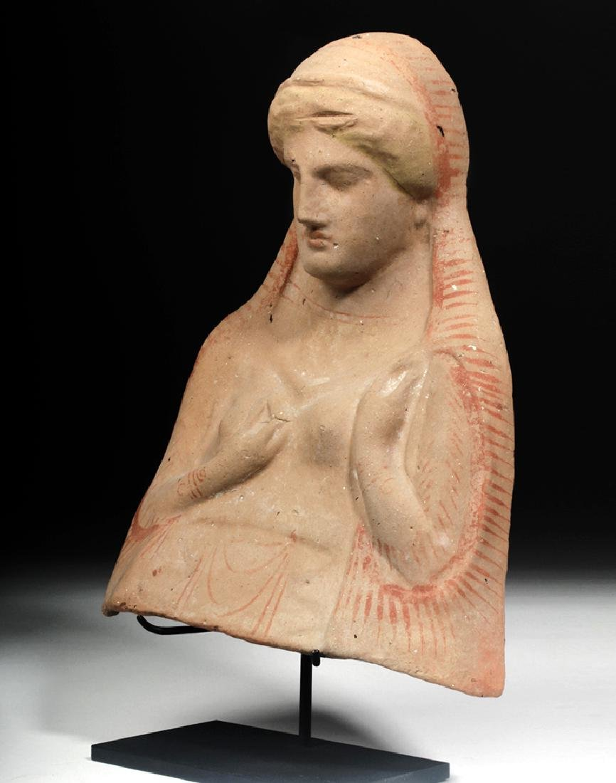 Archaic Greek Protome Bust of a Goddess, ex-Sotheby's - 2
