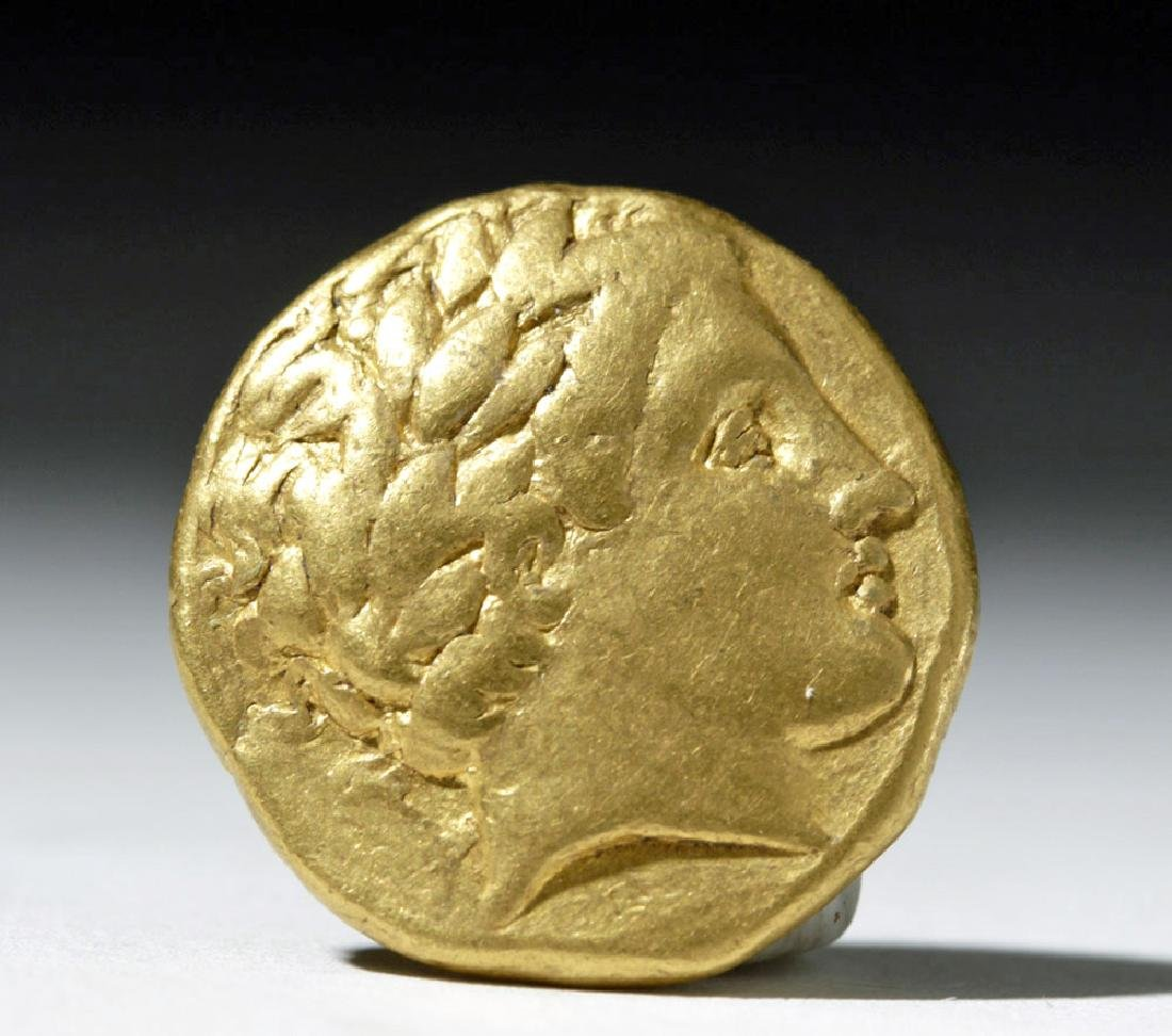 Kings of Macedon, Philip II, Gold Stater - 2