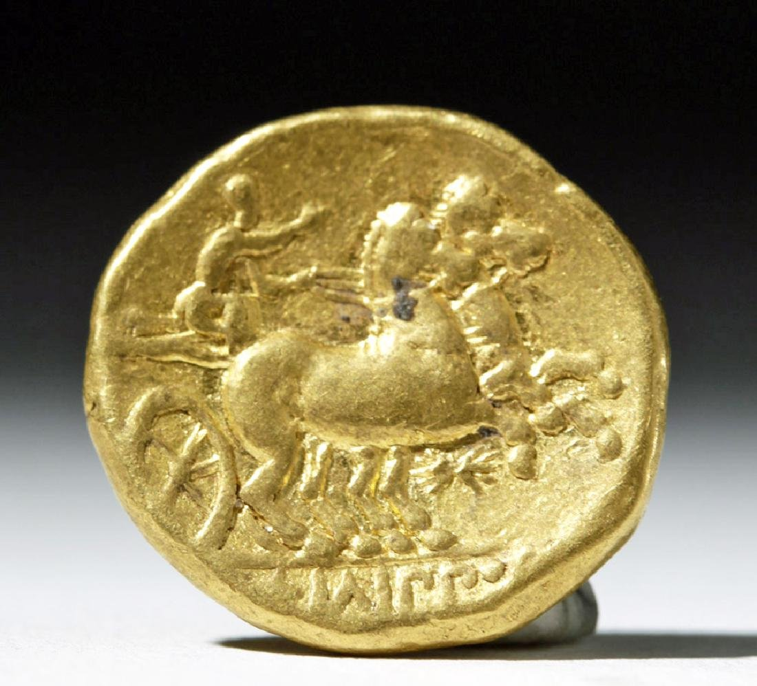 Kings of Macedon, Philip II, Gold Stater - 3