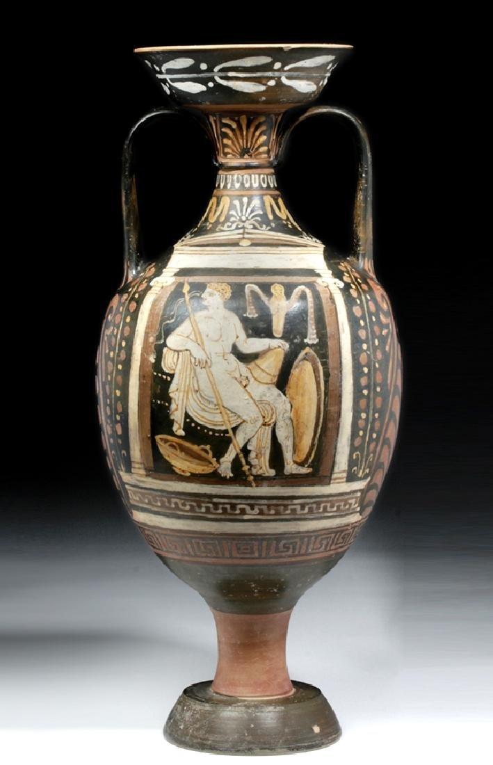 Greek Apulian Red-Figure Amphora, Baltimore Painter