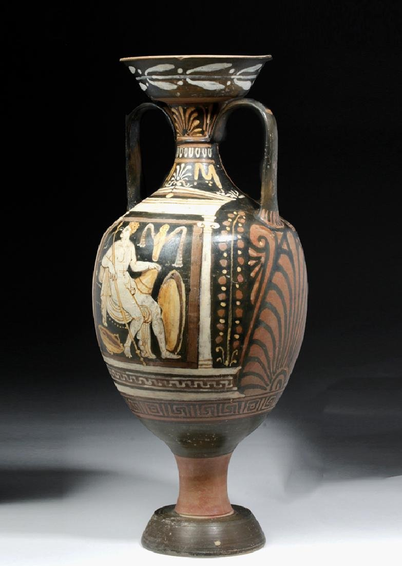 Greek Apulian Red-Figure Amphora, Baltimore Painter - 2