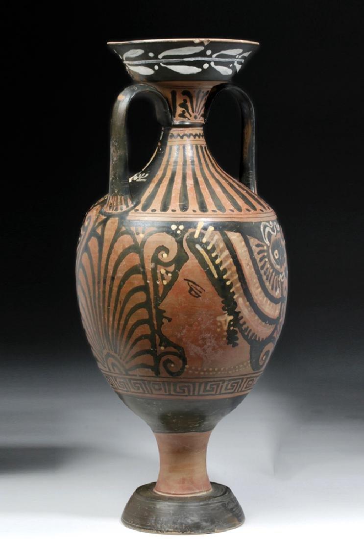 Greek Apulian Red-Figure Amphora, Baltimore Painter - 3