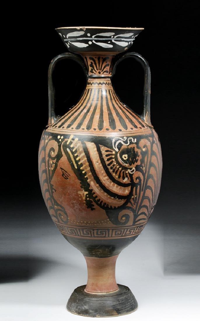 Greek Apulian Red-Figure Amphora, Baltimore Painter - 4