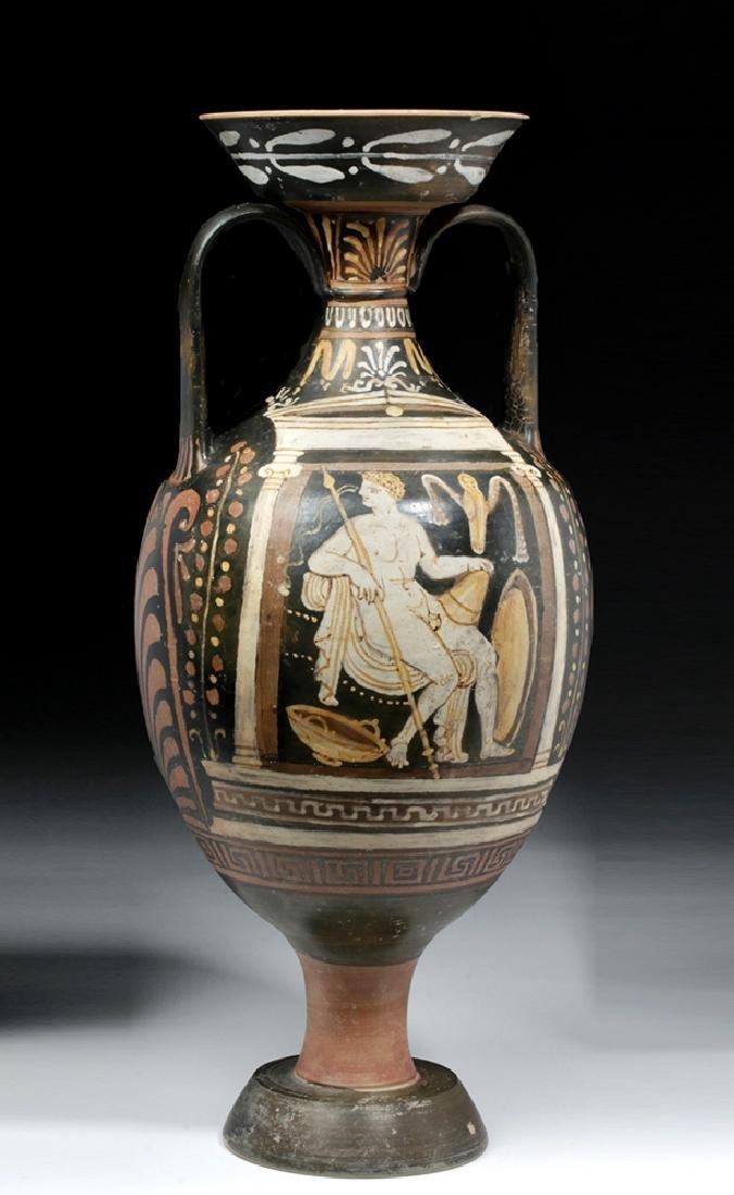 Greek Apulian Red-Figure Amphora, Baltimore Painter - 6