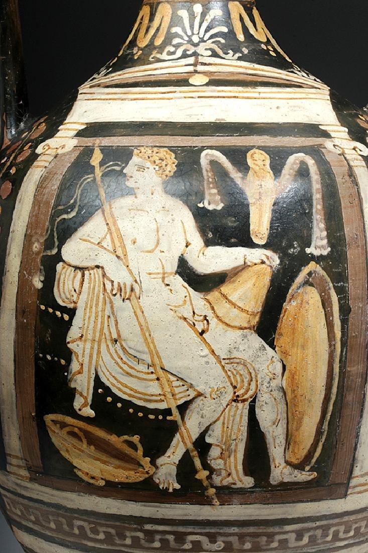 Greek Apulian Red-Figure Amphora, Baltimore Painter - 7