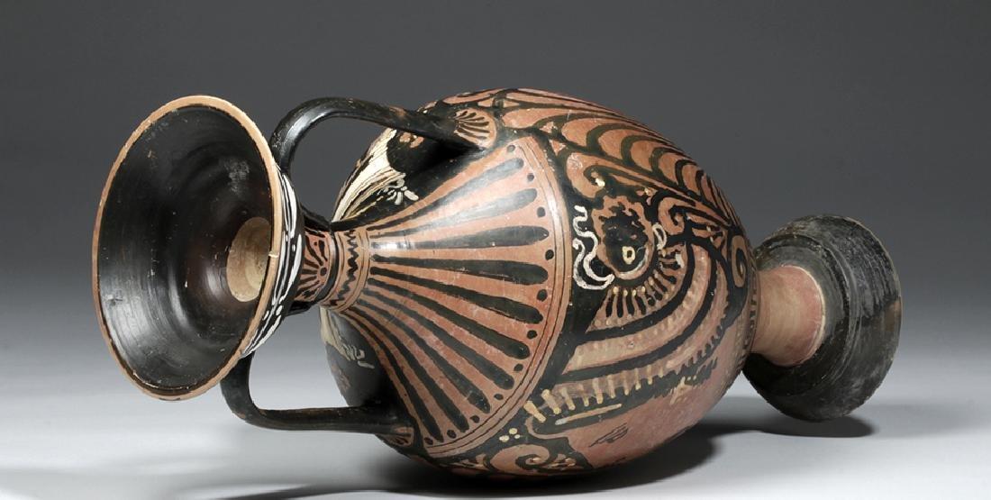 Greek Apulian Red-Figure Amphora, Baltimore Painter - 9
