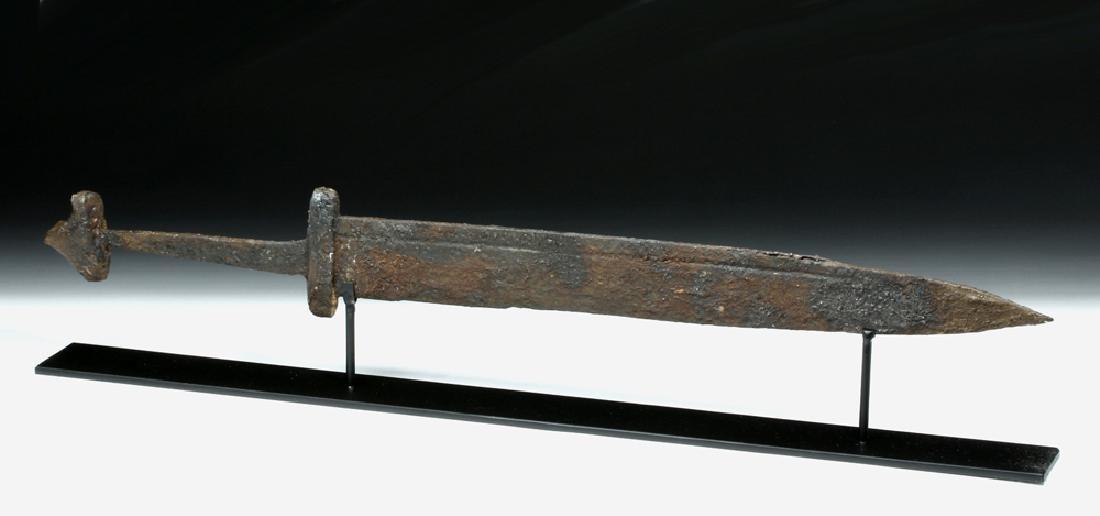 Intact and Wonderful Viking Iron Sword