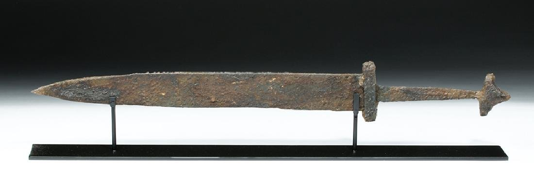 Intact and Wonderful Viking Iron Sword - 4