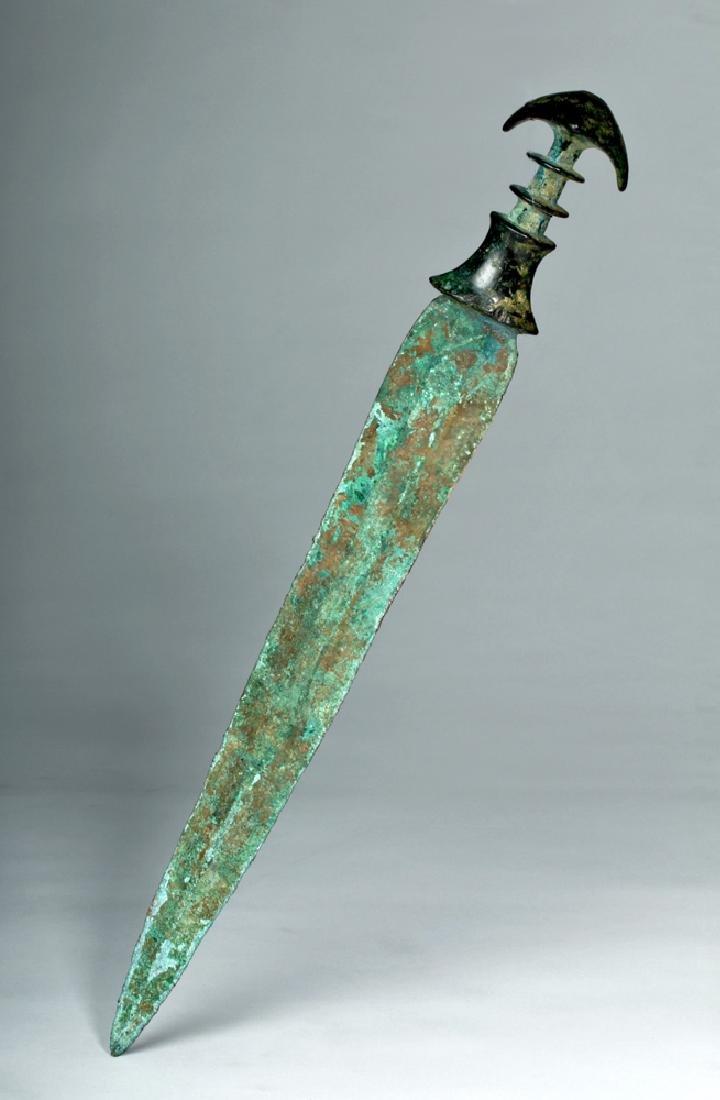 Beautiful Luristan Bronze Short Sword