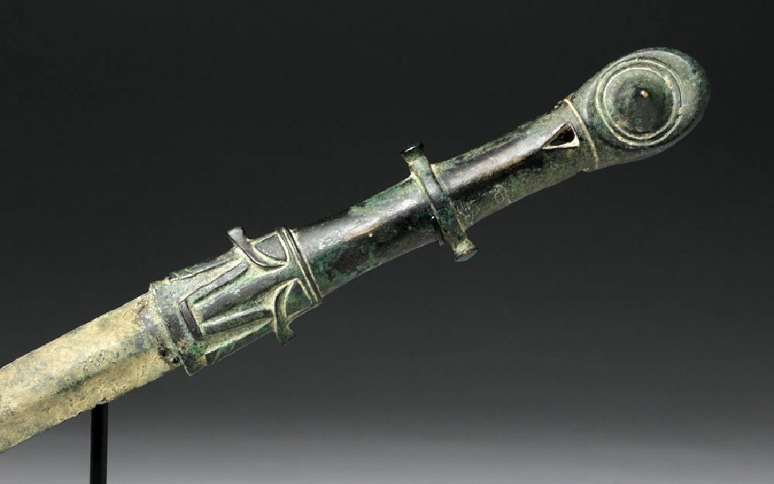 Superb Amlash Bronze Dagger - 6