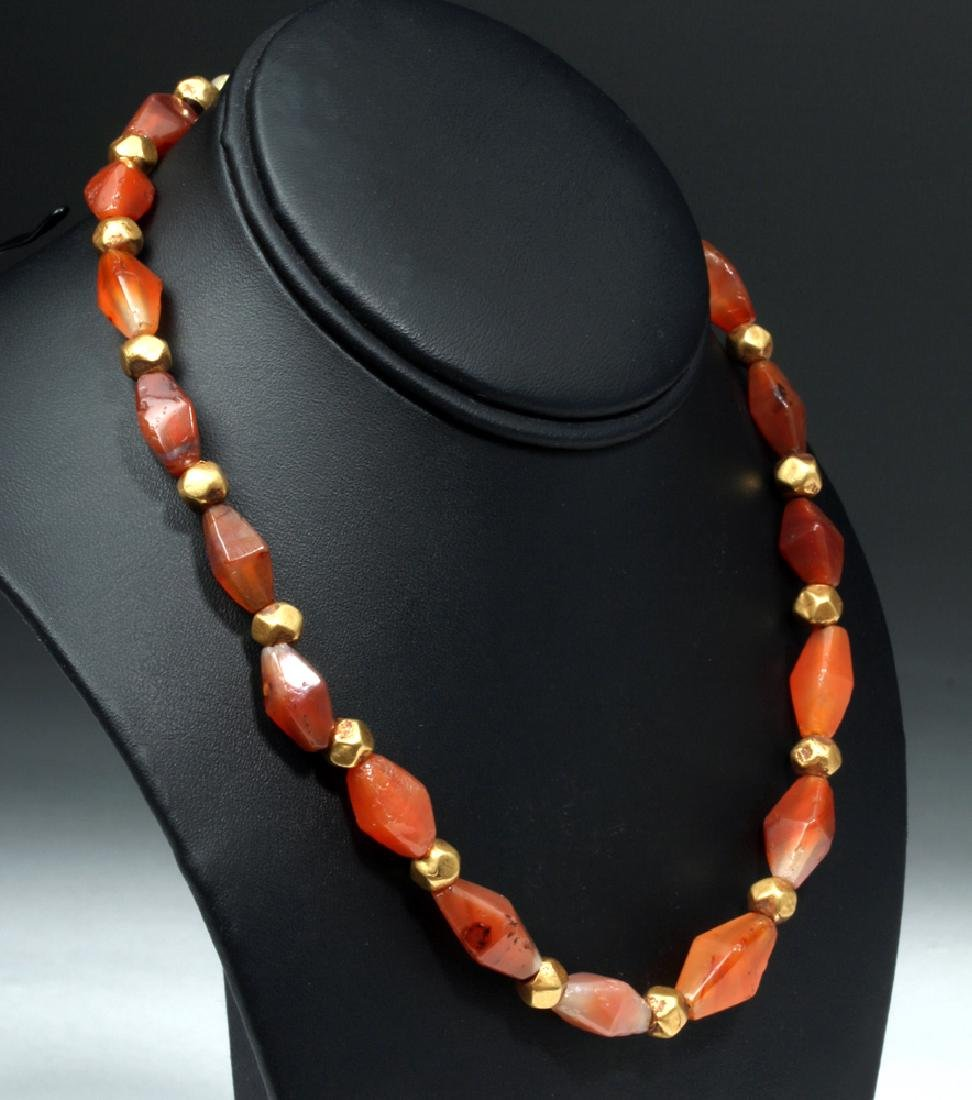 Fashion Jewelry Old Agate Necklace From Han Dynasty