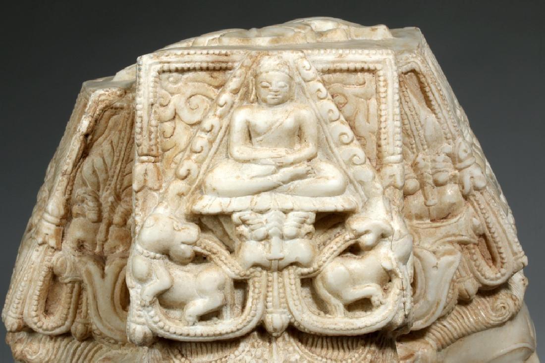 17th C Indian Marble Avalokitesvara Bodhisattva - 3