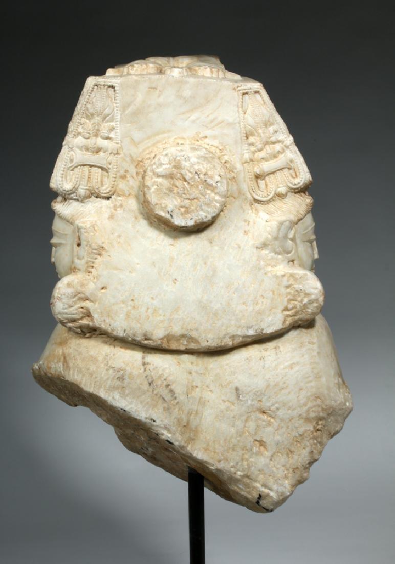 17th C Indian Marble Avalokitesvara Bodhisattva - 7