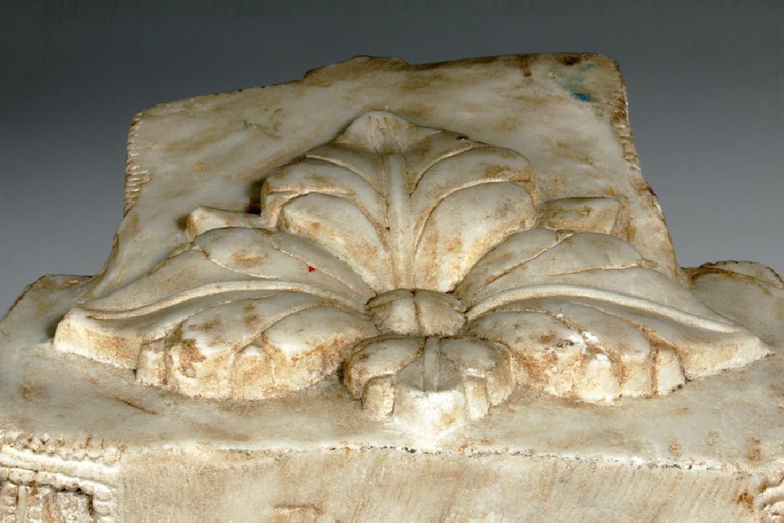 17th C Indian Marble Avalokitesvara Bodhisattva - 8