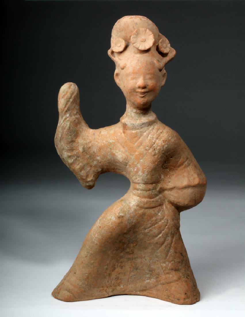 Chinese Han Dynasty Terracotta China Figure