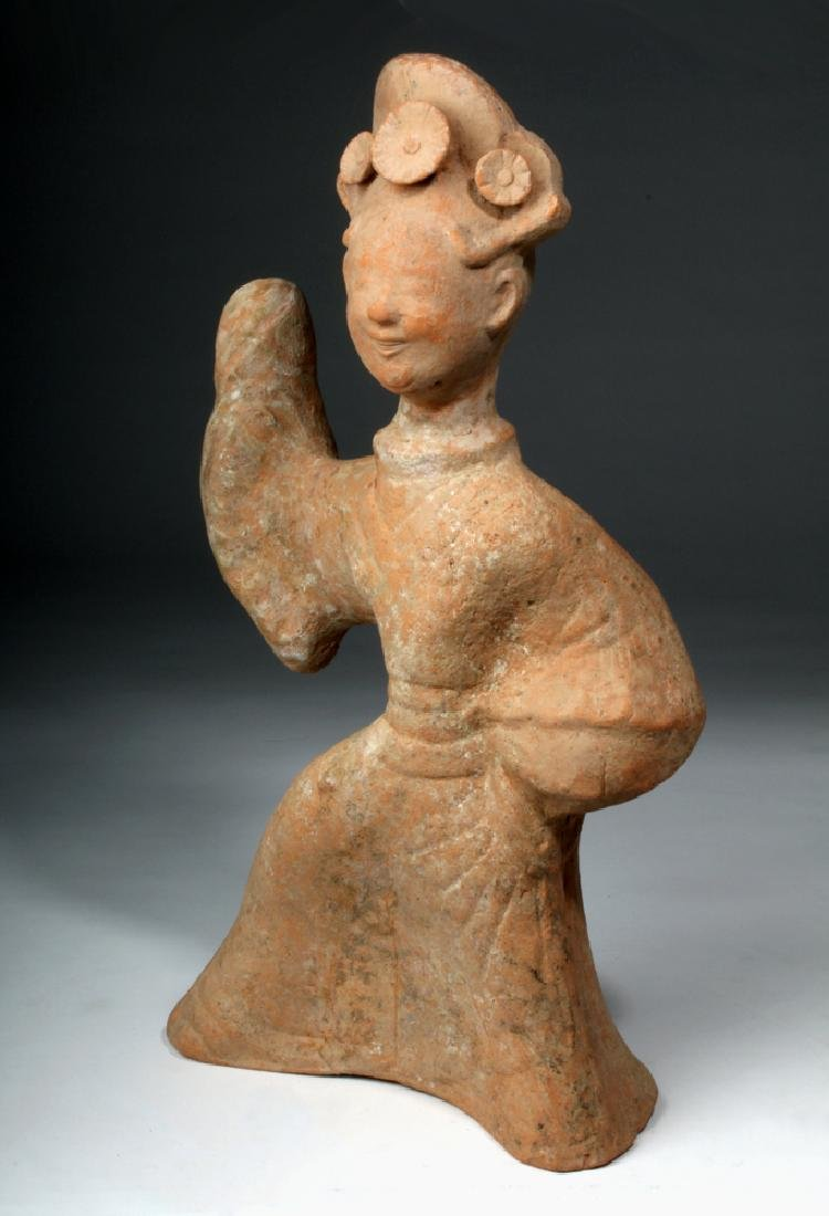 Chinese Han Dynasty Terracotta China Figure - 2