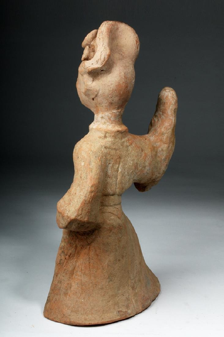 Chinese Han Dynasty Terracotta China Figure - 3