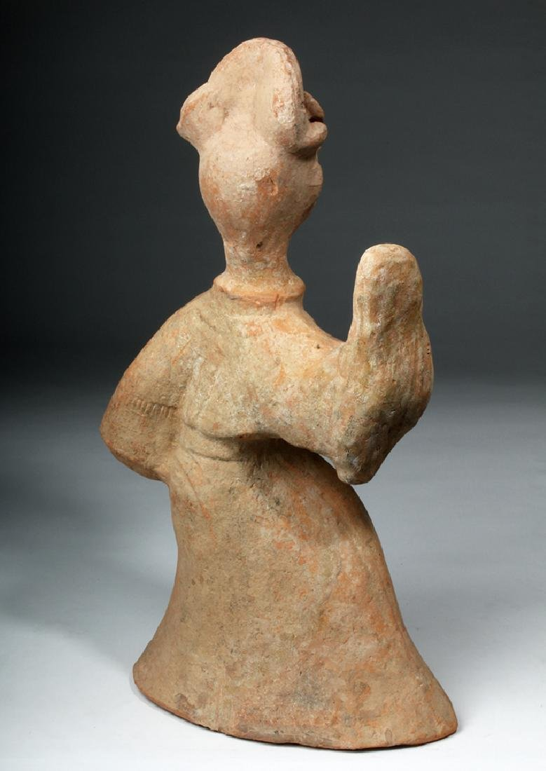 Chinese Han Dynasty Terracotta China Figure - 4