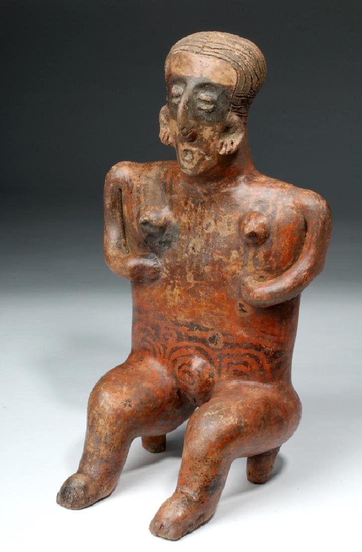 Nayarit Sitting Female on 2-Legged Stool
