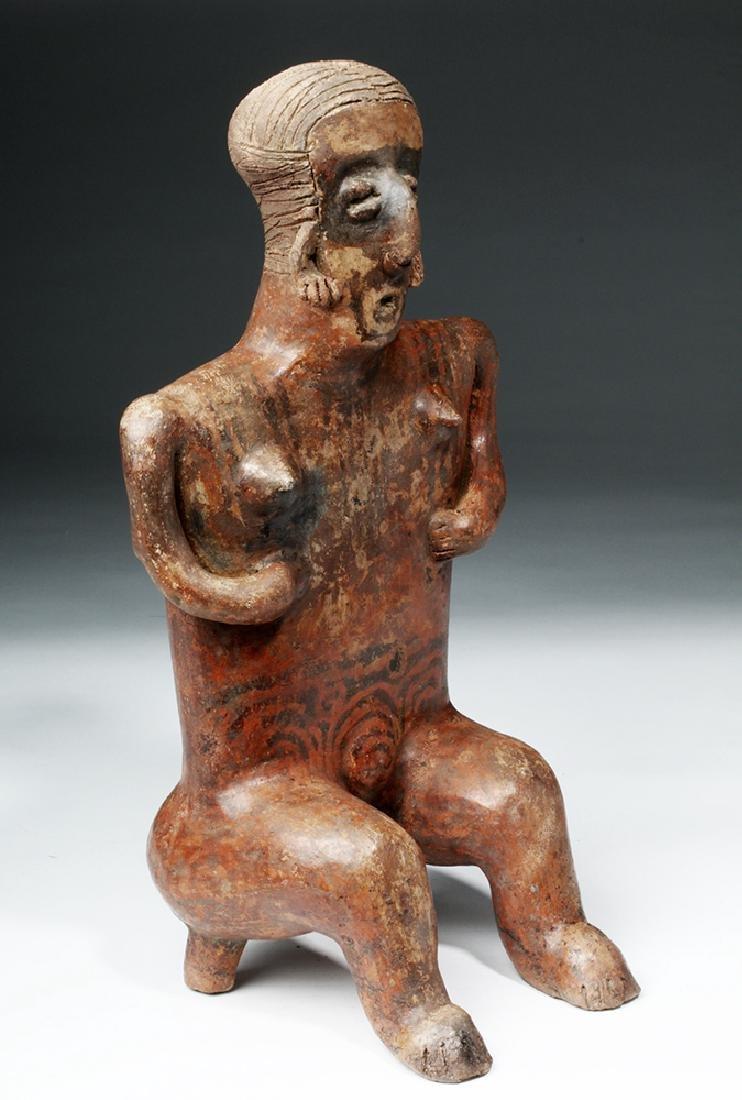 Nayarit Sitting Female on 2-Legged Stool - 3