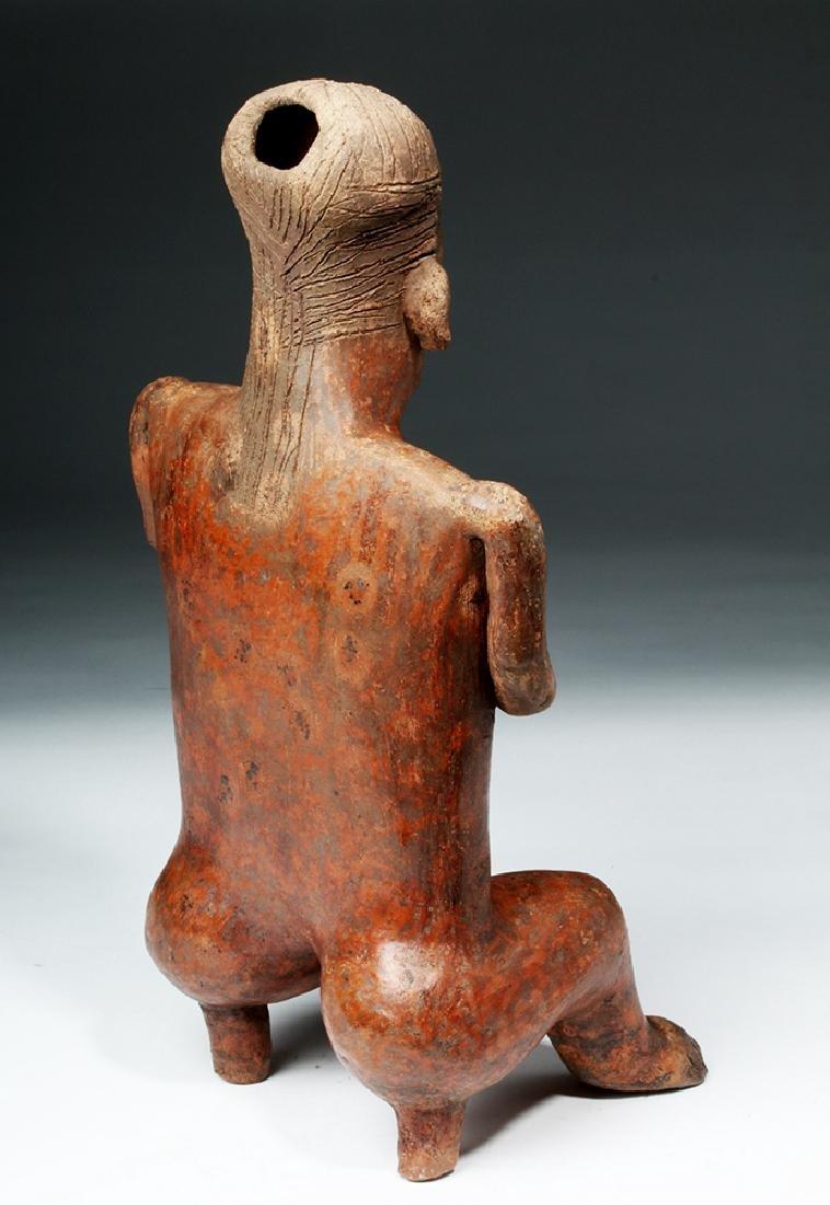 Nayarit Sitting Female on 2-Legged Stool - 4