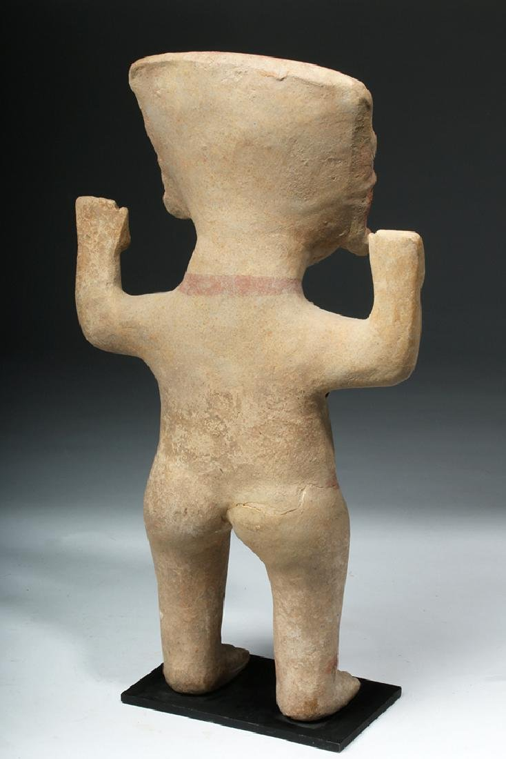 Tall & Delightful Veracruz Sonriente Pottery Figure - 4