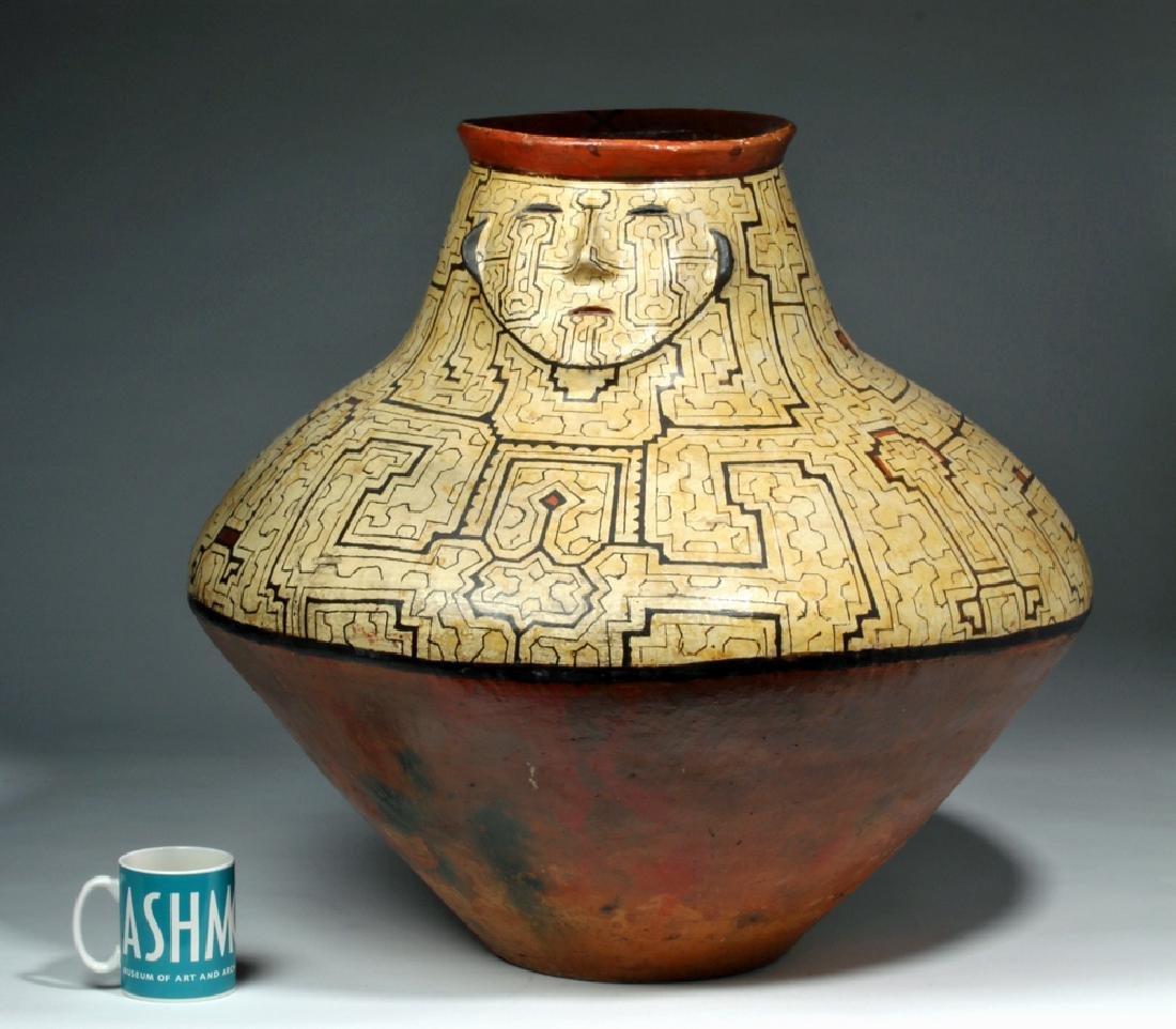 Huge Amazonian Shipibo Pottery Jar