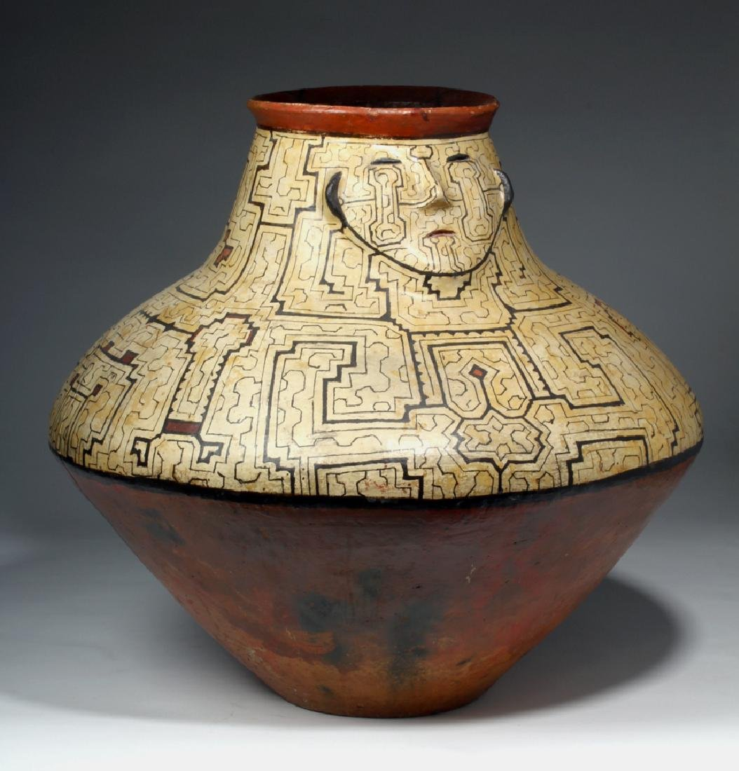 Huge Amazonian Shipibo Pottery Jar - 3