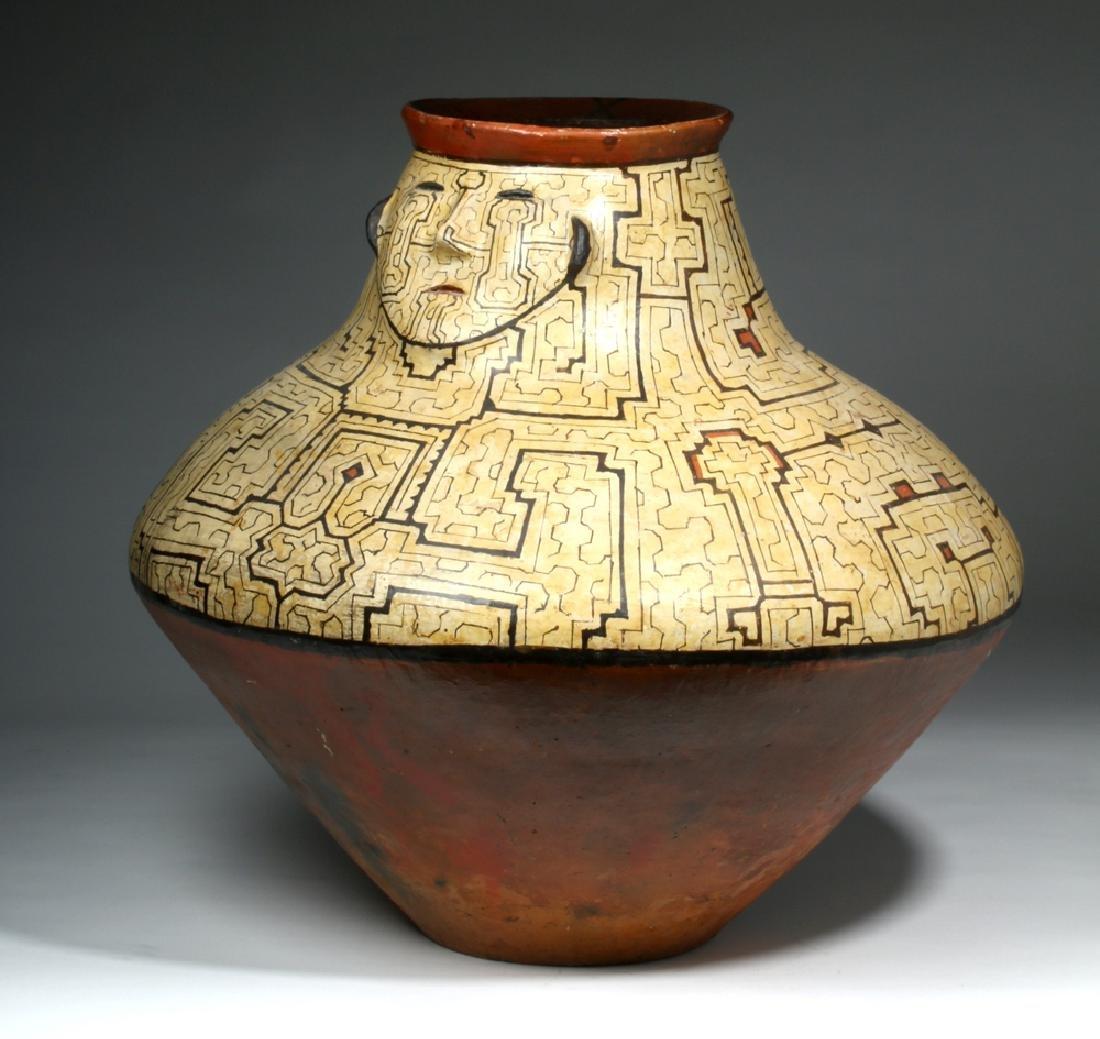 Huge Amazonian Shipibo Pottery Jar - 6