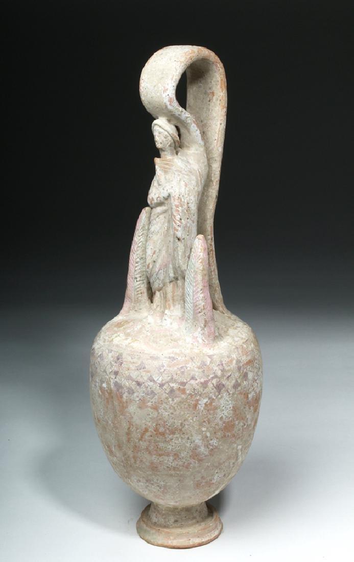 Lovely Canosan False Amphora w/ Original Pigment - 5