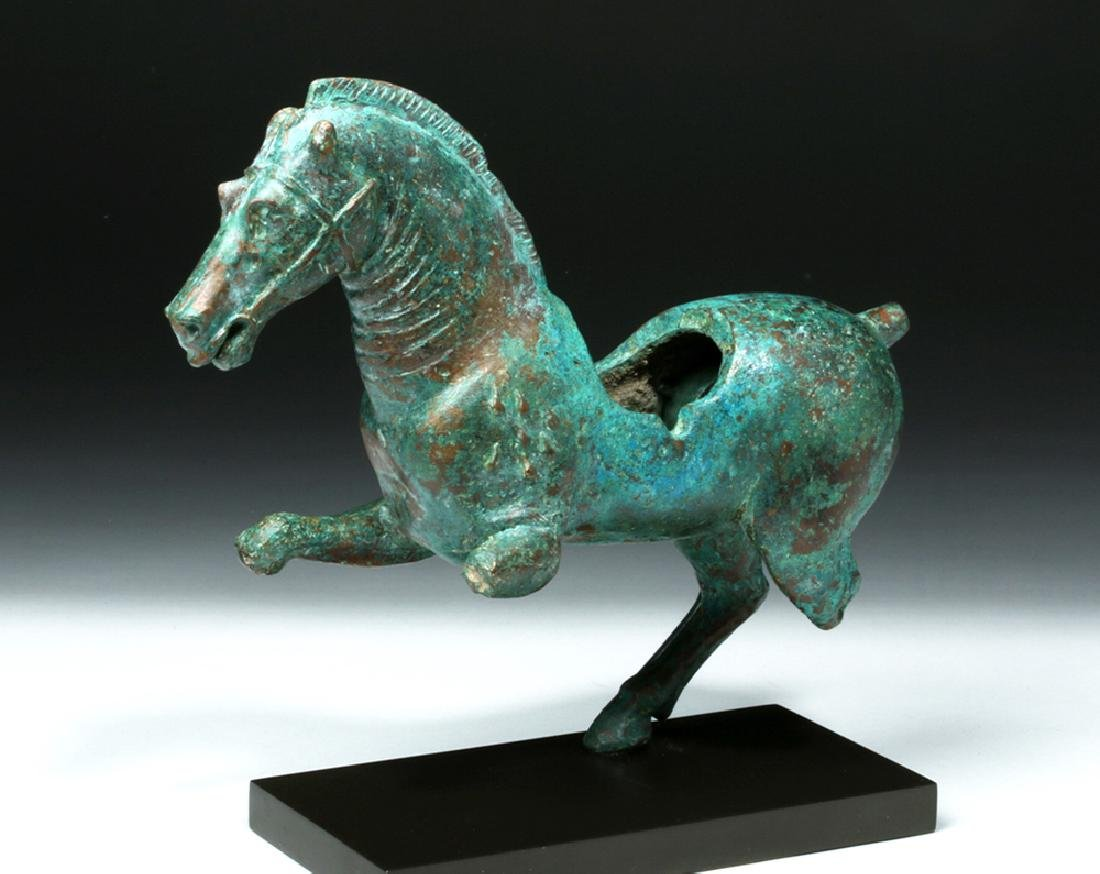 Hellenistic Bronze Statue Of Bucephalus - Artist makes angel sculpture from more than 100000 confiscated weapons