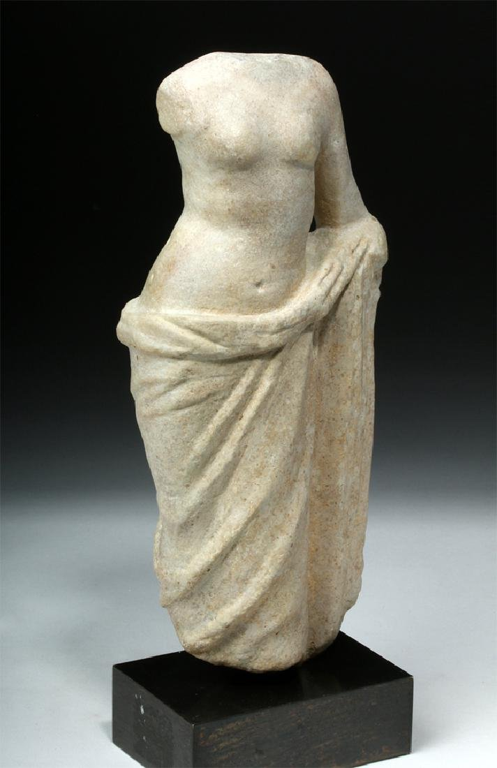 Hellenistic Greek Marble Statue of Aphrodite