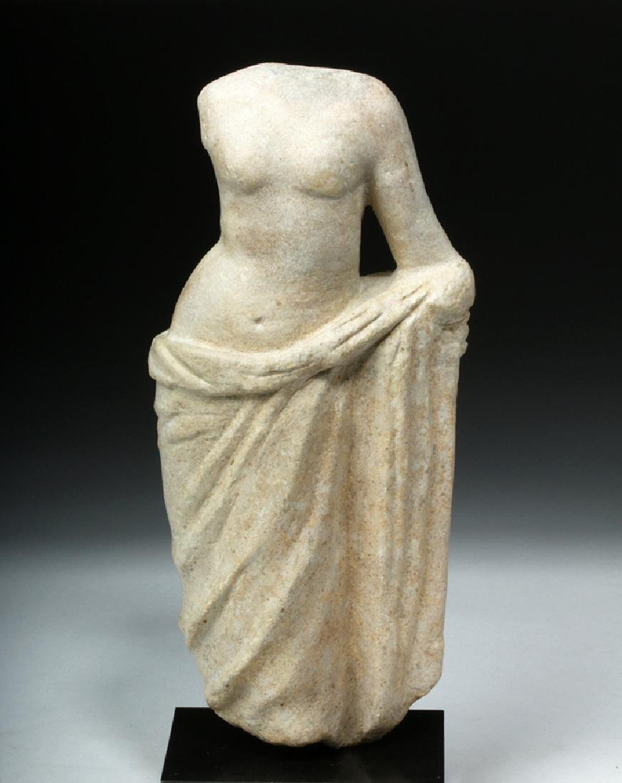 Hellenistic Greek Marble Statue of Aphrodite - 2
