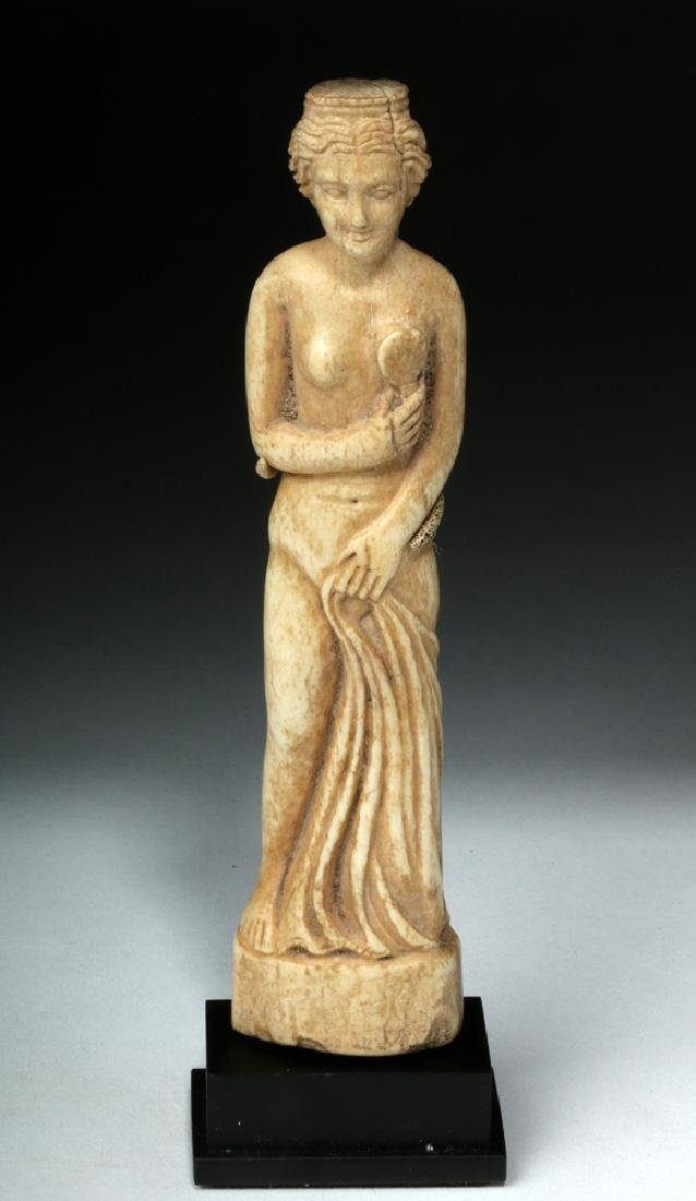 Beautiful Roman Bone Statuette of Venus