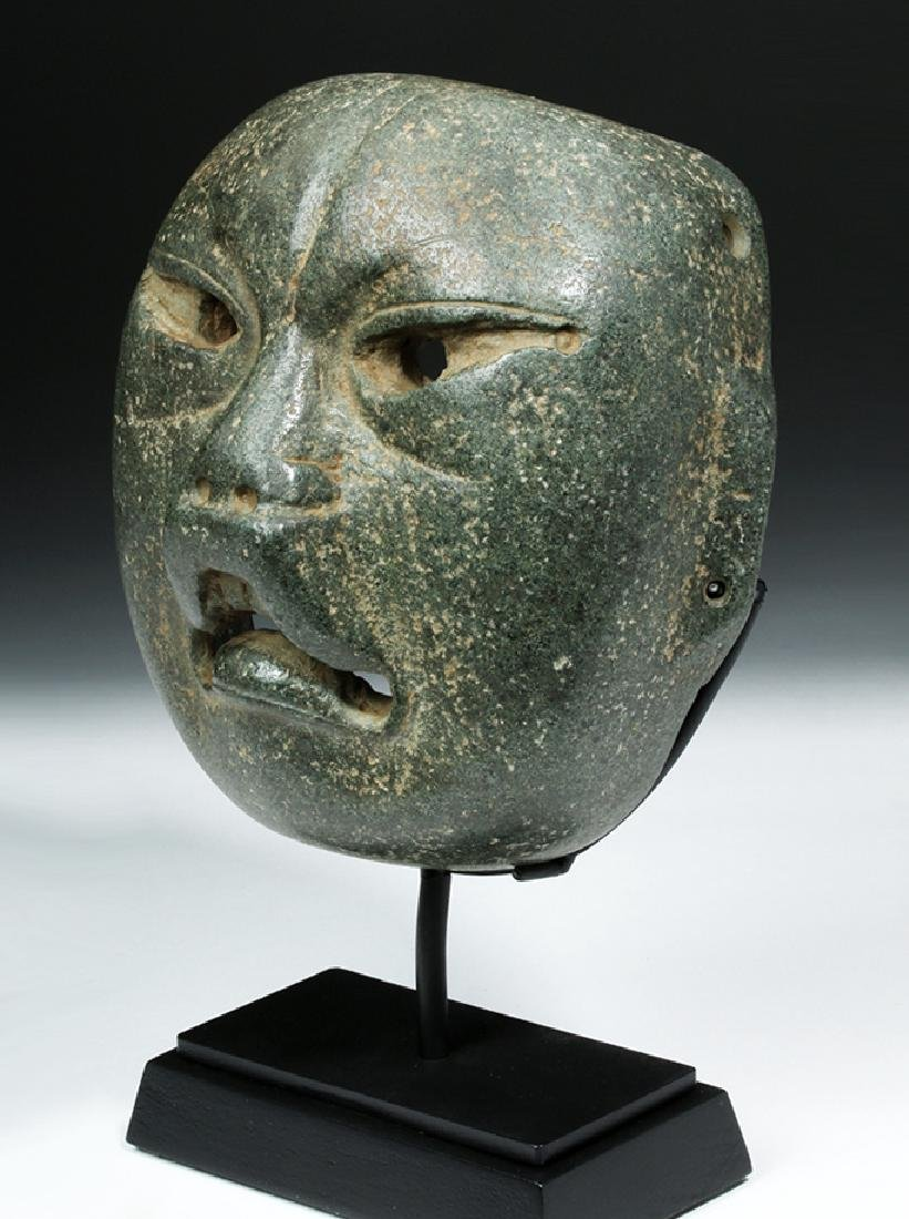 Olmec Were-Jaguar Serpentine Mask w/ Stoetzer Report - 2