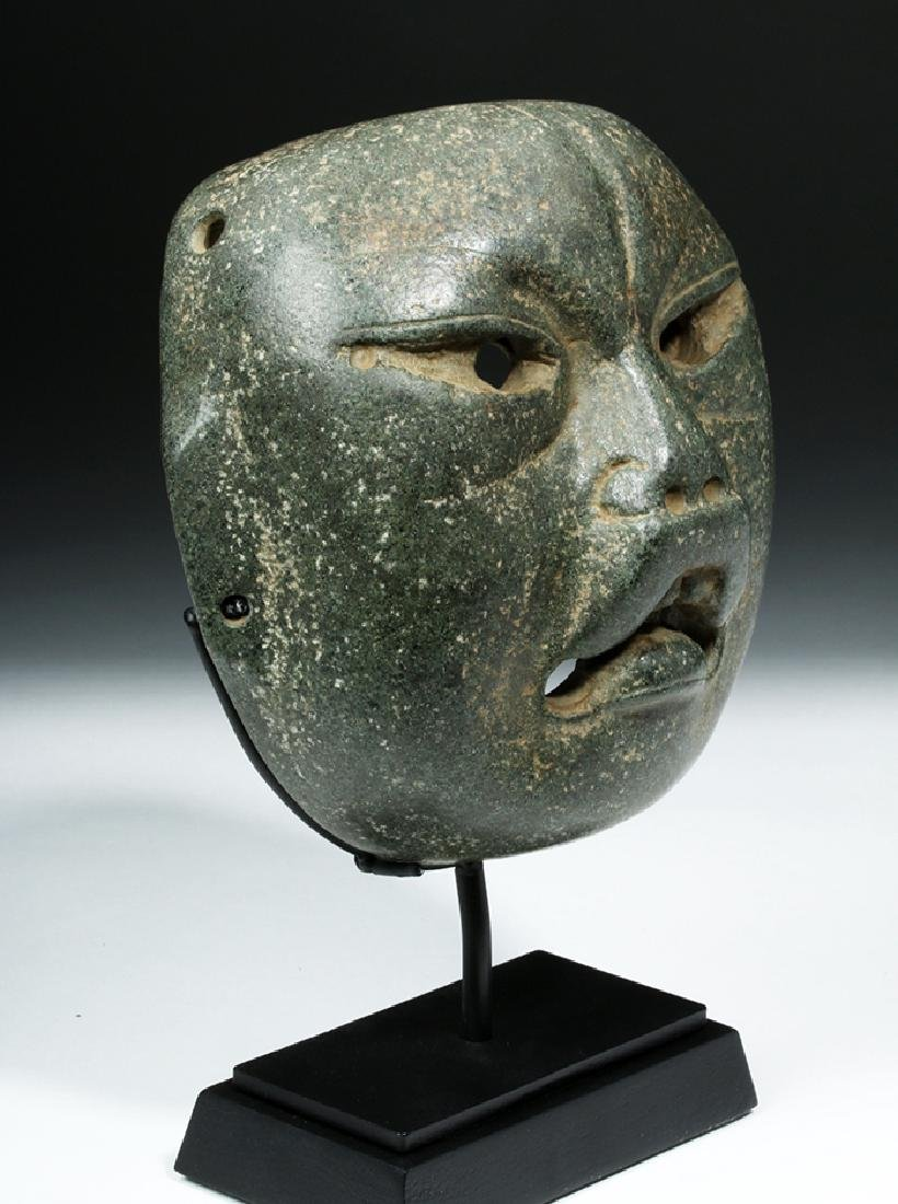 Olmec Were-Jaguar Serpentine Mask w/ Stoetzer Report - 5
