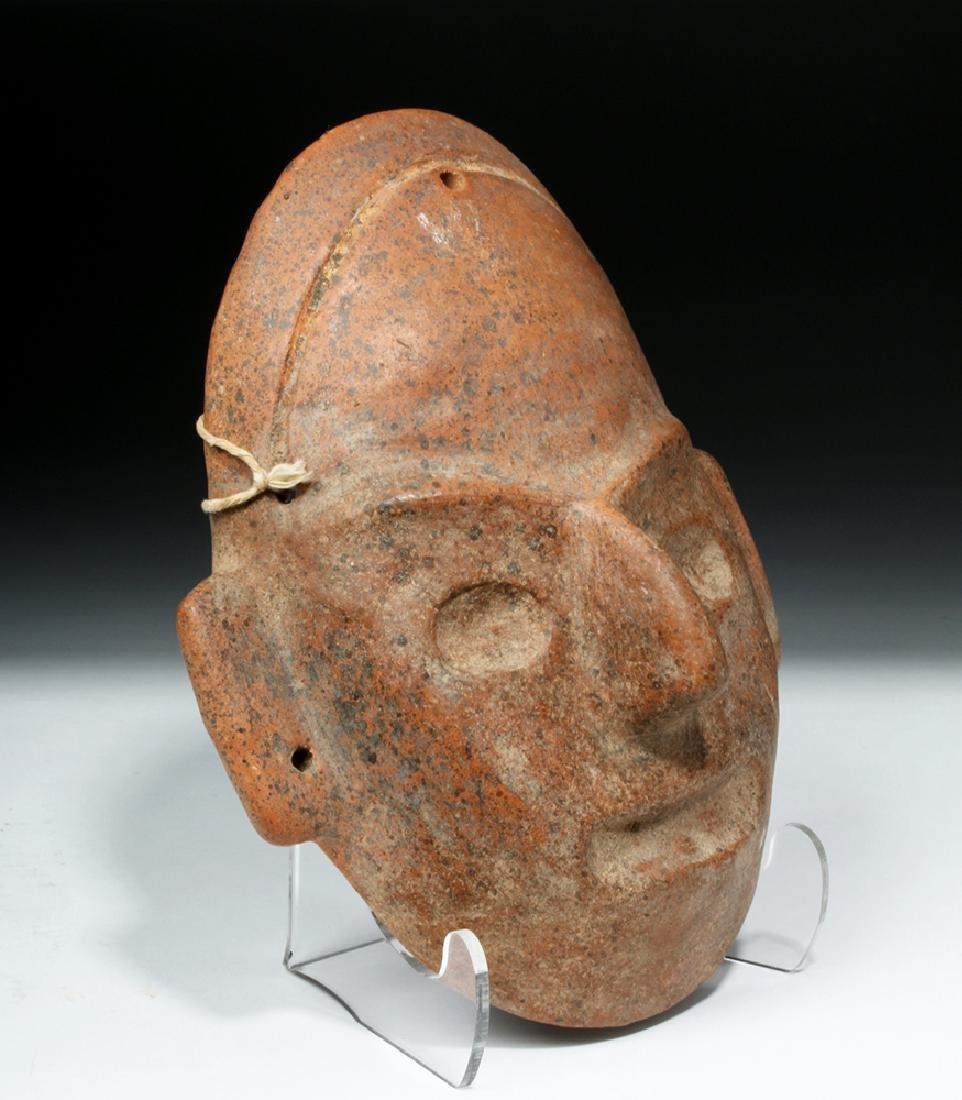 Expressive Colima Terracotta Mask - 2