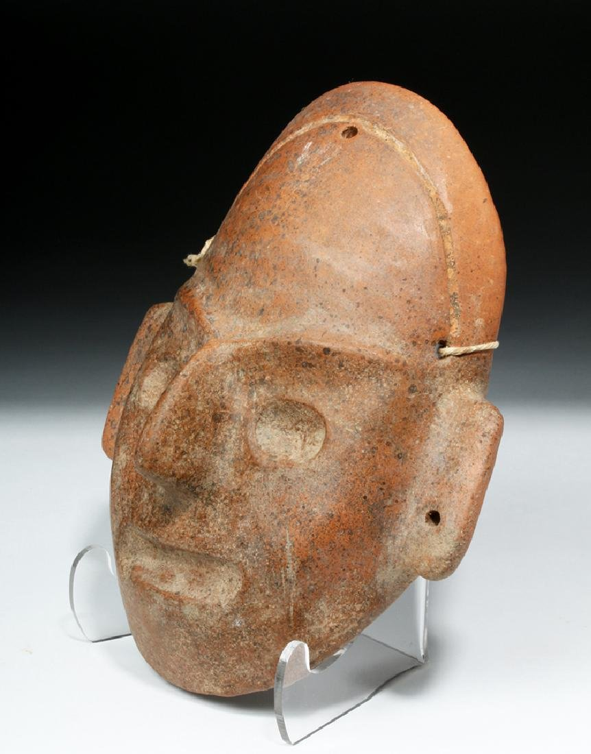 Expressive Colima Terracotta Mask - 3