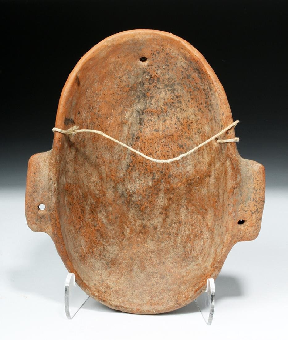 Expressive Colima Terracotta Mask - 4