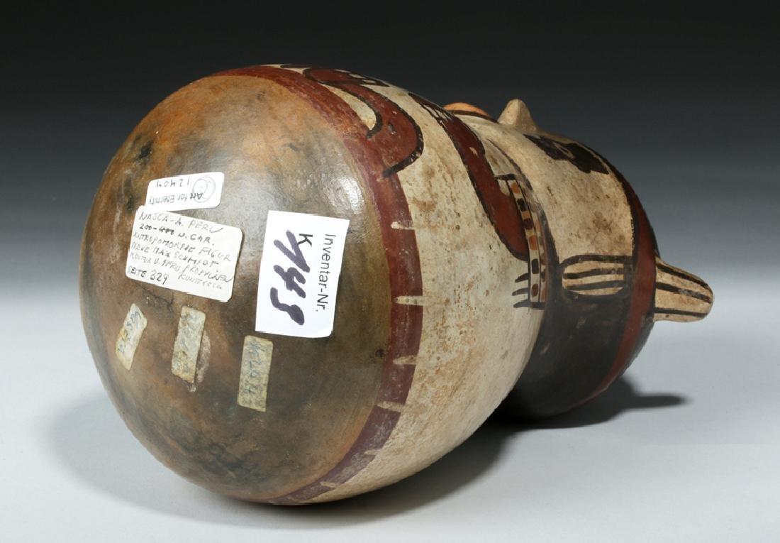 Nazca Pottery Polychrome Figural Vessel - Shaman - 7