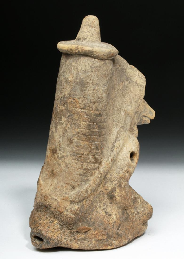 Mayan Pottery Whistle - Human-Body God - 5