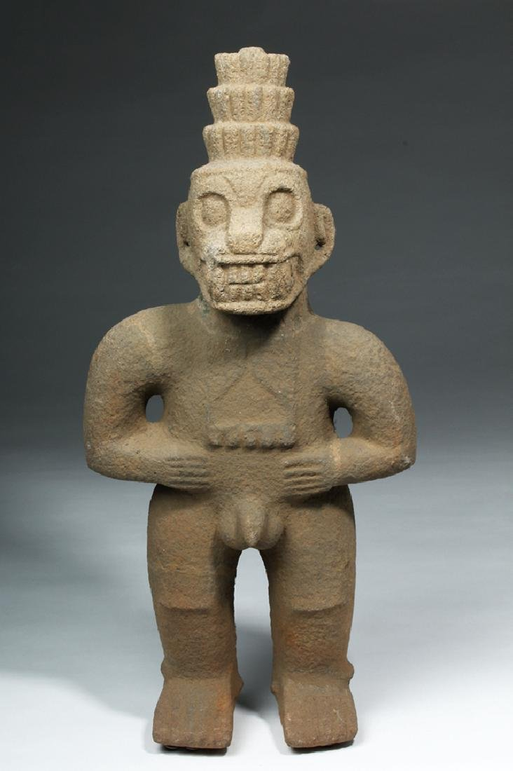 Costa Rican Stone Standing Monkey God - Ex Stendahl - 2