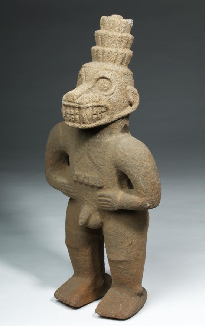 Costa Rican Stone Standing Monkey God - Ex Stendahl - 5