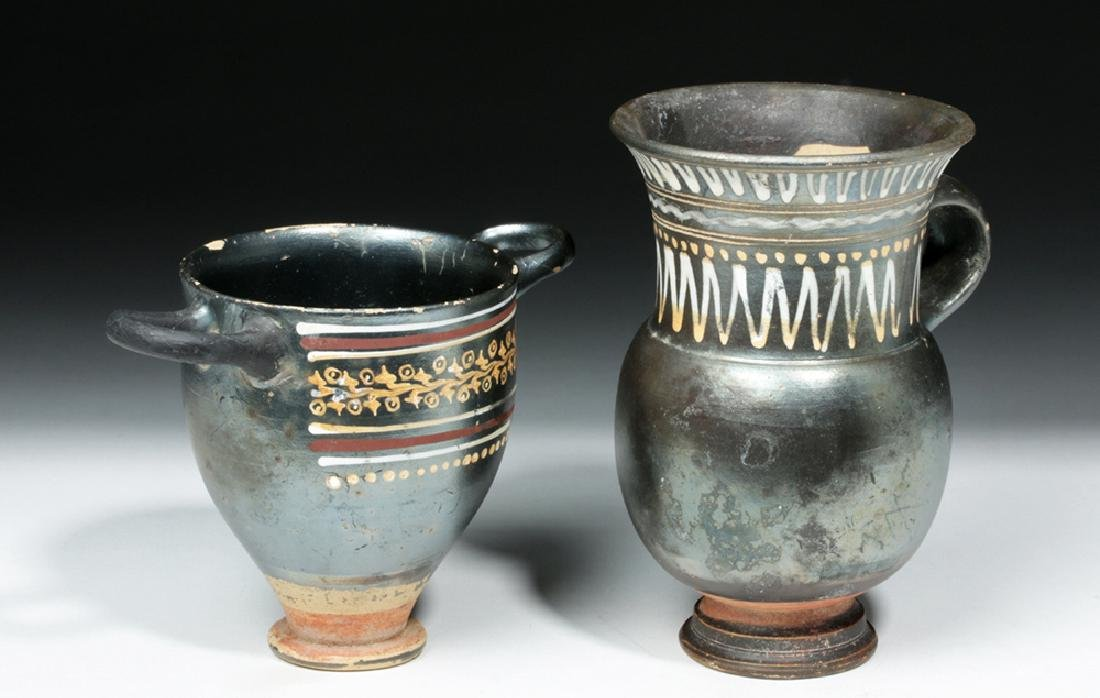 Greek Gnathian Thistle Mug & Skyphos - 5