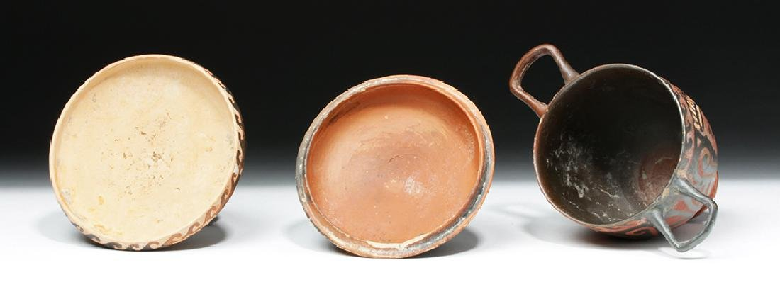 Pair of Greek Apulian Lady of Fashion Vessels - 6
