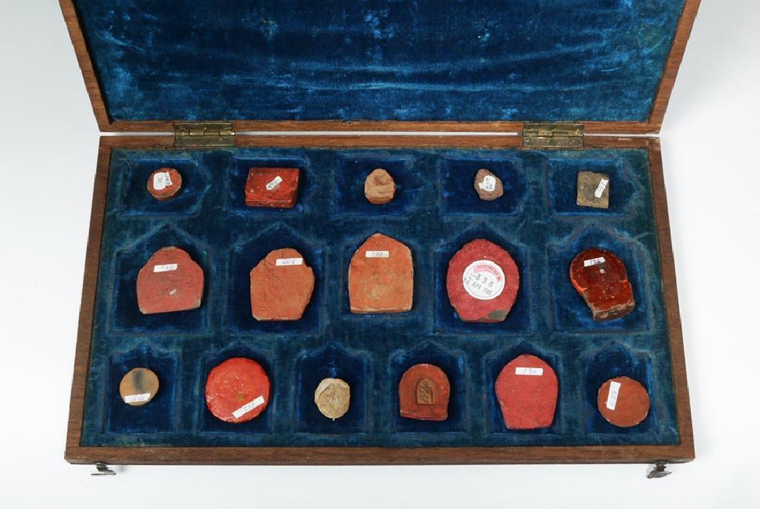 Sino-Tibetan Clay Monk Tsa Tsa Tablets, ex-Sotheby's - 6