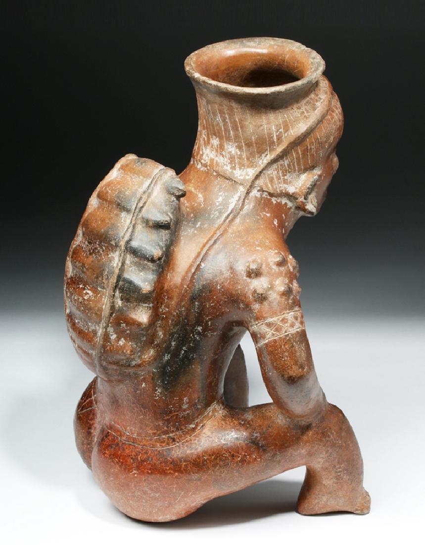 Important Colima Pihuamo Cargador Seated Figure - 4