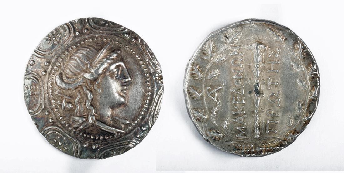 Greek Silver AR Tetradrachm The Four Regions